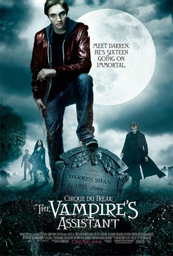 Nuevo póster internacional de Cirque Du Freak: The Vampire's Assistant