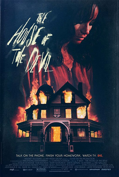Cartel de The House of the Devil