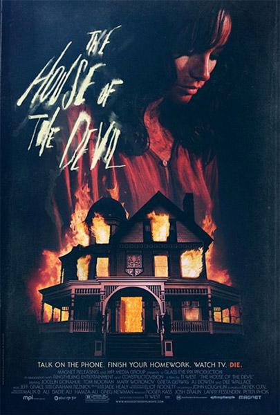 Cartel de The House of the Devil