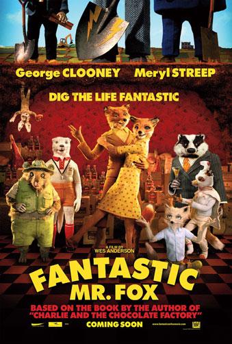 Nuevo cartel de Fantastic Mr. Fox