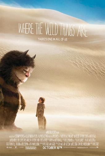 Cartel de Donde viven los monstruos (Where the Wild Things Are)