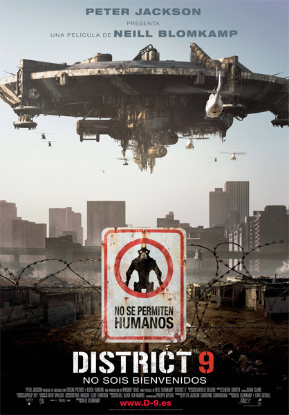Póster español de District 9