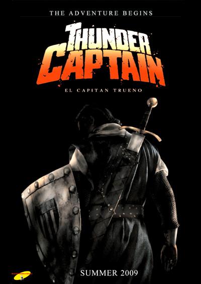 Póster de El Capitán Trueno / Thunder Captain