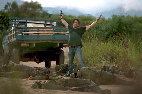 Sylvester Stallone y unos cuantos amigos... muertos