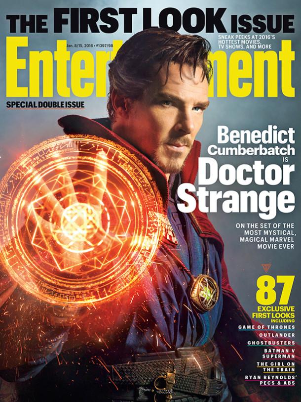 Benedict Cumberbatch como Doctor Strange