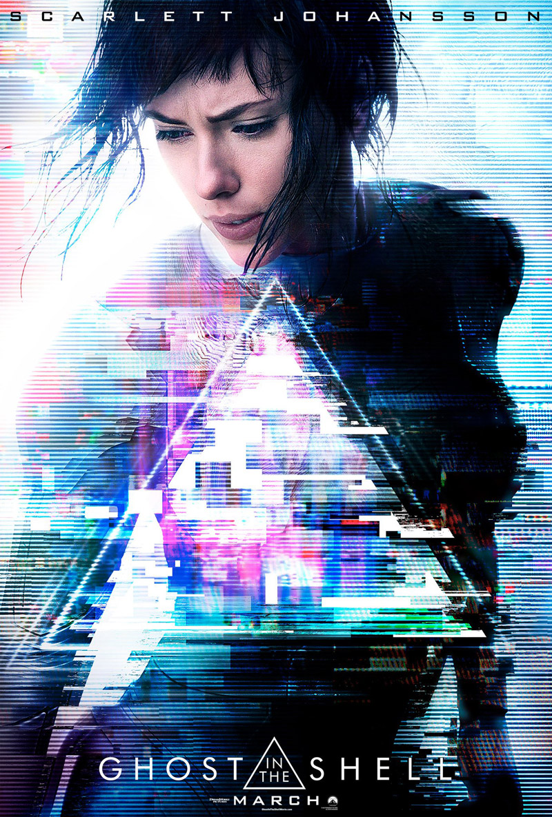 Cartel de Ghost in the Shell