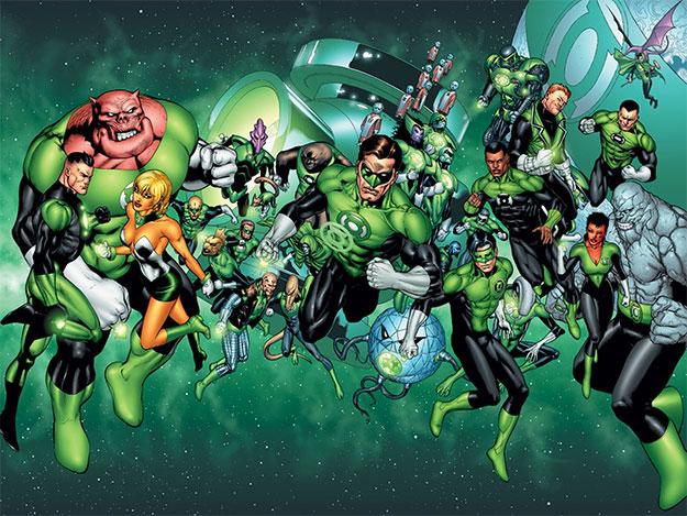 Green Lantern Corps ya tiene guionistas